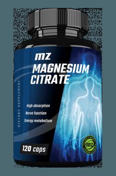 Rekomendowany suplement z cytrynianem magnezu - MZ Store Magnesium Citrate
